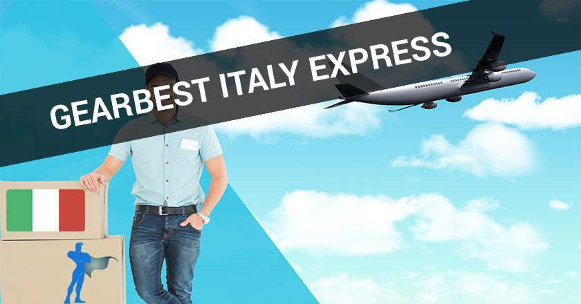 gearbest italy express dogana