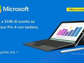 Codice sconto Surface Pro 4