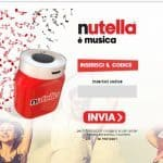 Speaker Bluetooth in omaggio con Nutella