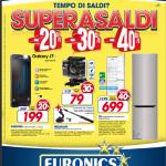 """Da Euronics torna """"SUPERASALDI"""" la promozione con sconti fino al 40%"""