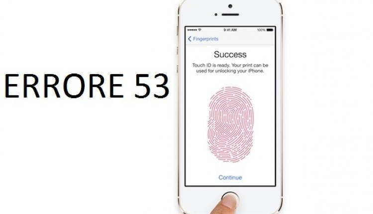 Errore 53 iPhone 6
