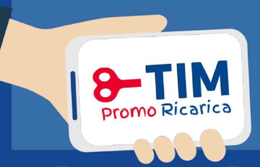 Tim offre bonus per la ricarica online solo oggi