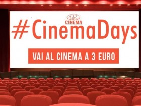Tornano i biglietti del cinema a tre euro con Cinemadays