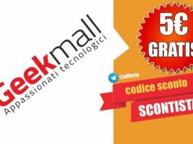 CODICE SCONTO 5 euro geekmall 2018