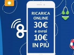 Tim regala 10 euro di bonus a chi ricarica online