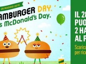 hamburger day mcdonalds