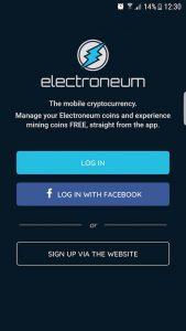 mobile mining electroneum