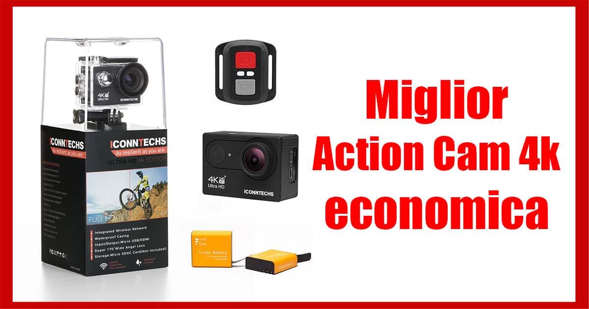 miglior action cam 4k economica