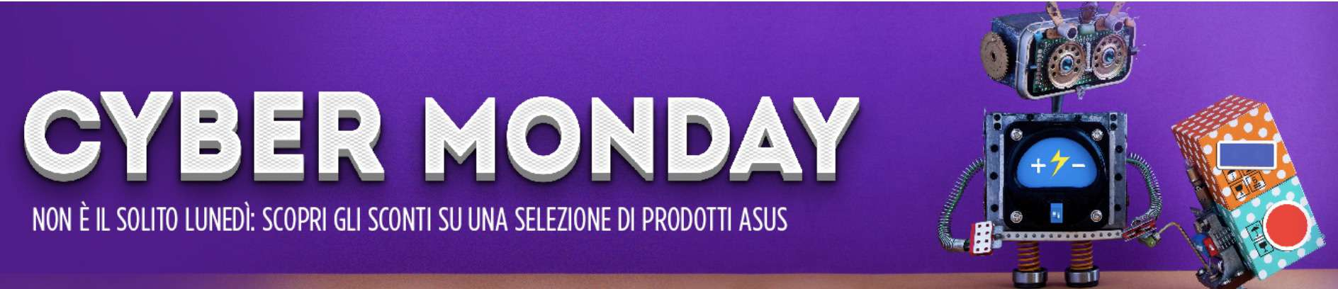Partito il Cyber Monday sul sito Asus
