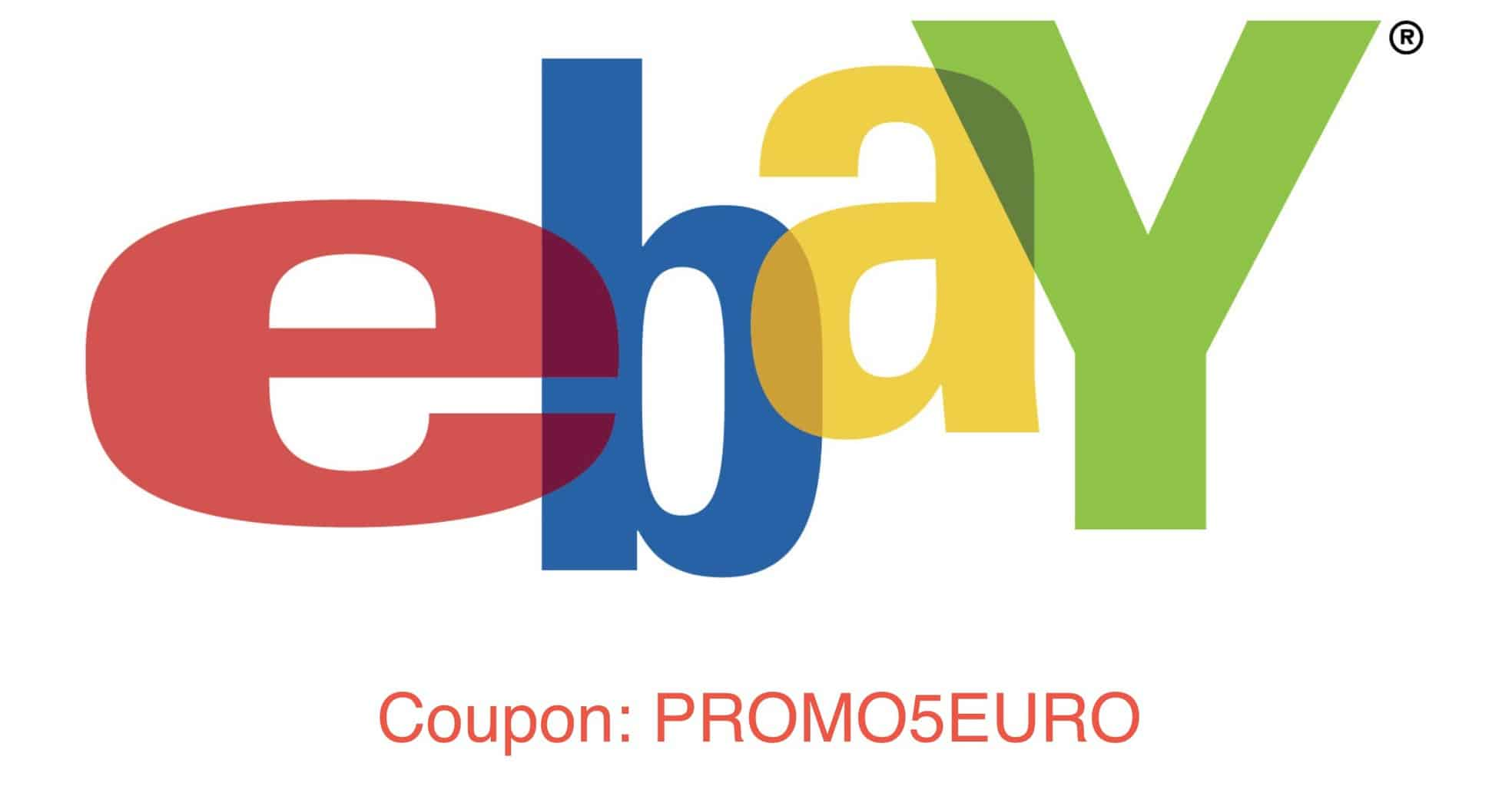 eBay coupon 5 euro black friday