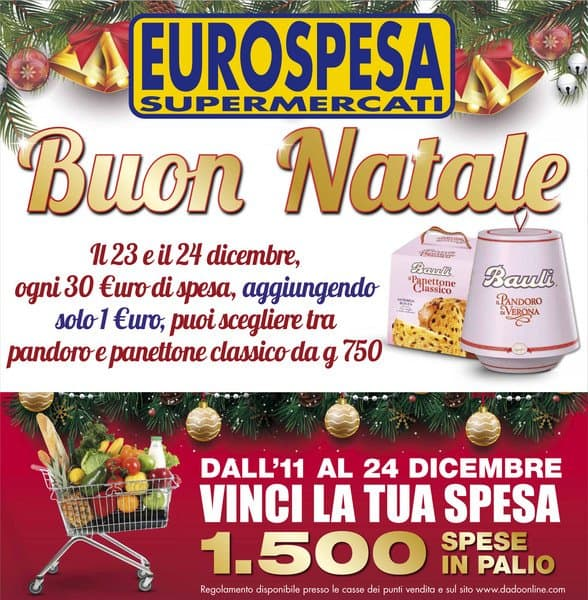 Vinci la tua spesa con i supermercati Eurospesa e Ideashop