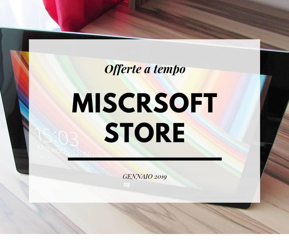 Offerte Microsoft Gennaio 2019