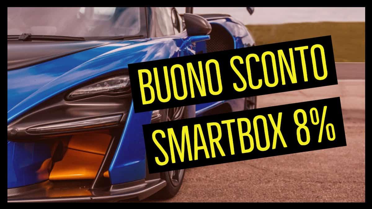 buono sconto smartbox 8 per cento