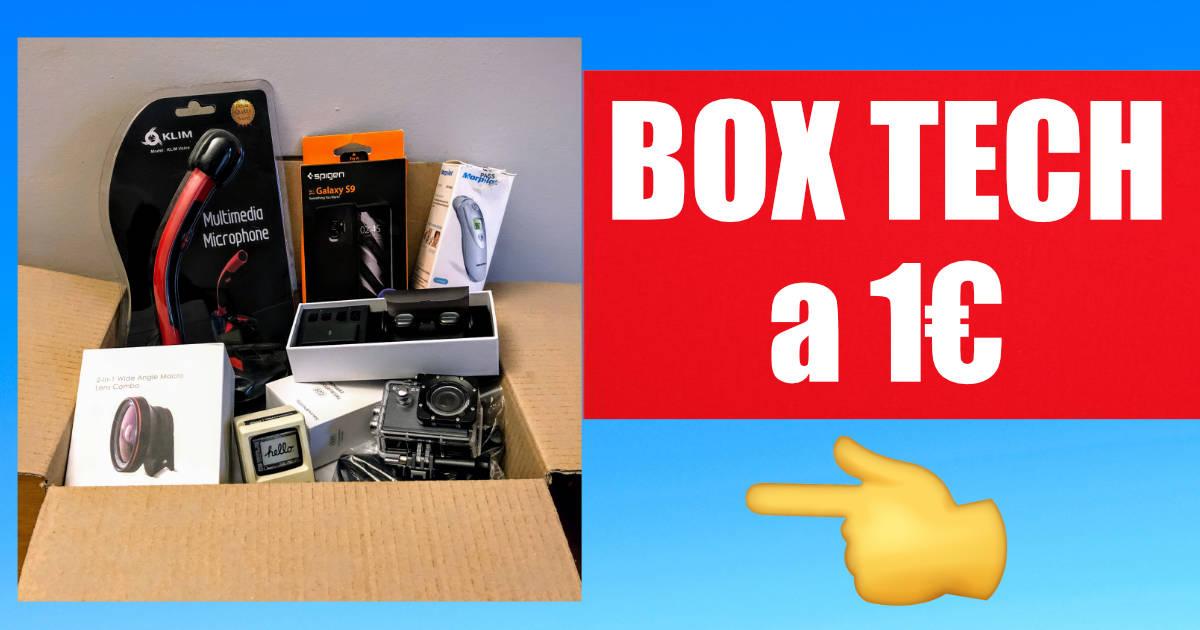 Box Tech a 1 euro, scopri come!