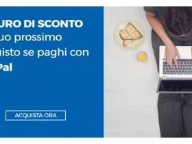 PayPal regala 10 euro da Unieuro