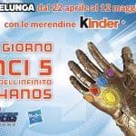 Vinci il Guanto dell'Infinito della serie Marvel Legends con Kinder