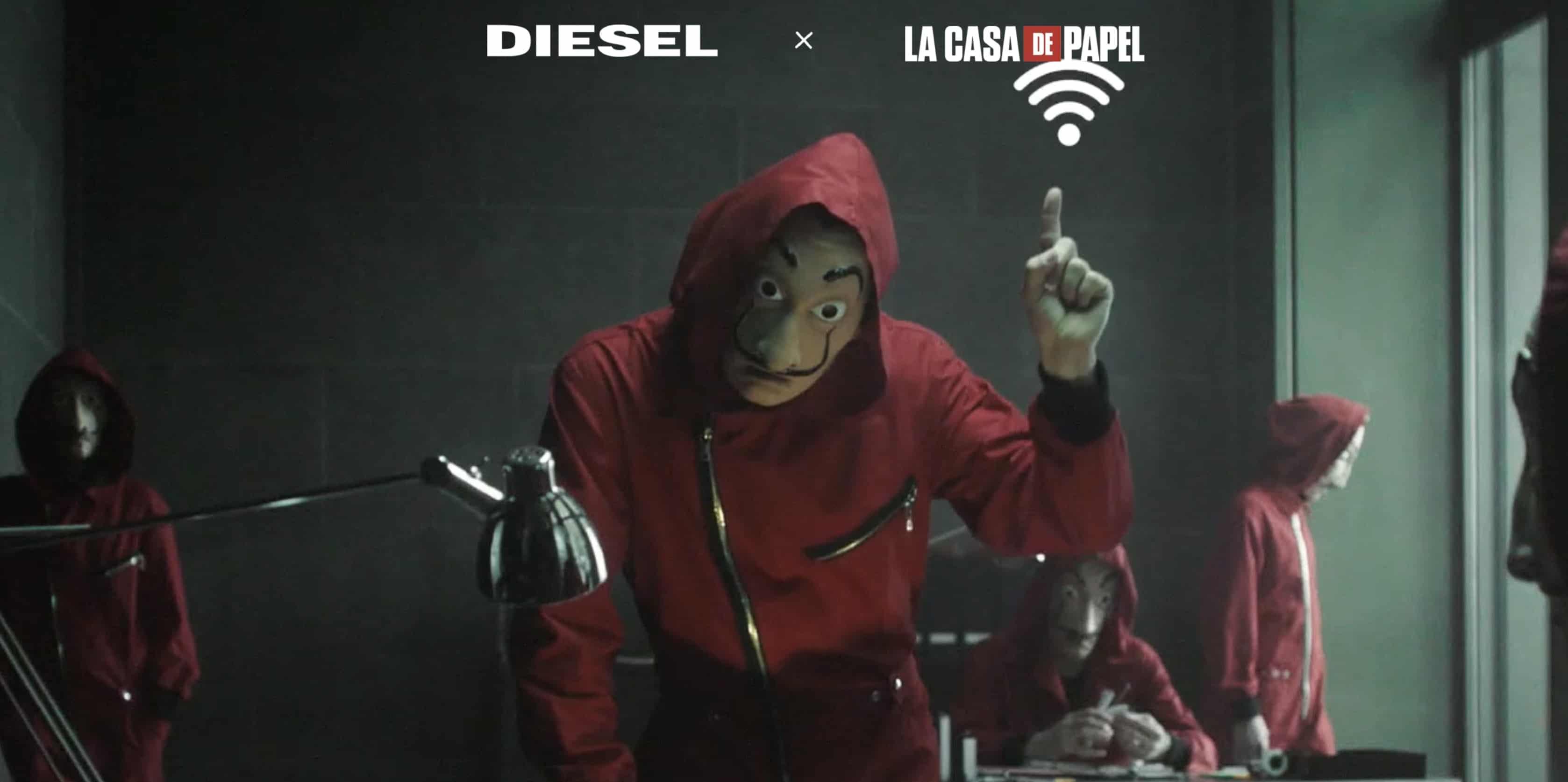 La Casa di Carta Diesel mette in palio 150 tute originali della serie Netflix