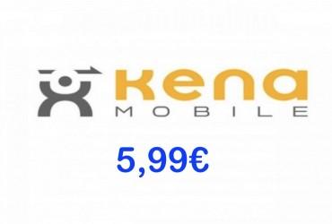 Kena 5,99 Flash Minuti e SMS illimitati, 70 Giga