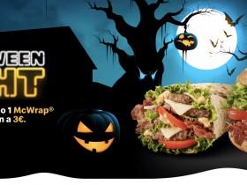 McDonald's Halloween Night 2019 a soli 3 euro Big Tasty Bacon o McWrap Tasty Bacon
