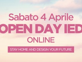 Sabato 4 Aprile Open Day IED