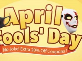 Banggood April Fool's Day sconto extra del 20%