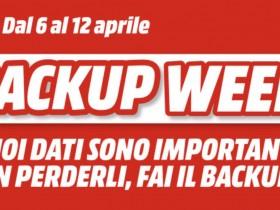 MediaWorld Backup Week fino al 12 Aprile