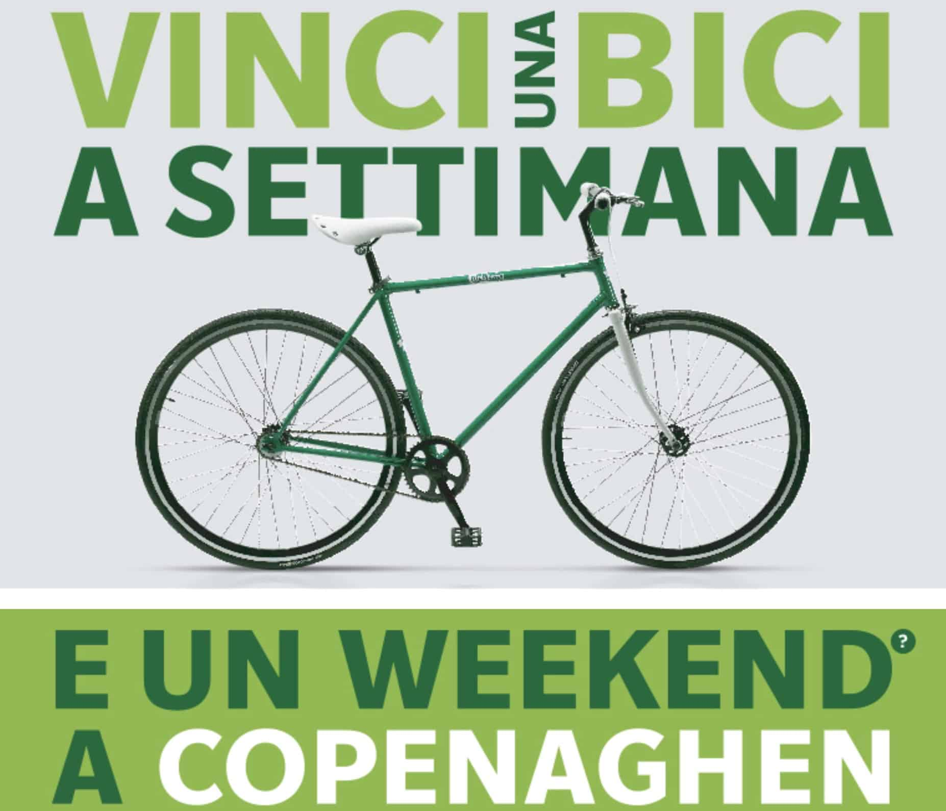 Carlsberg vinci biciclette brandizzate e weekend