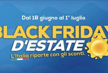 black friday d'estate euronics 2020