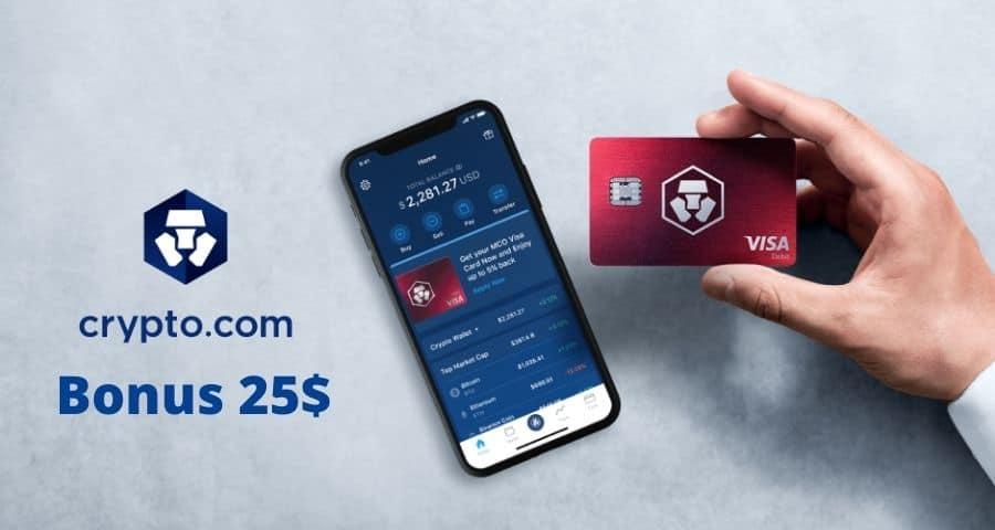 Come ricevere 25 dollari di bonus più Spotify Gratis netflix con Crypto com