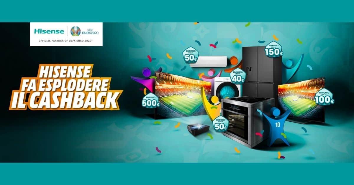 Cashback Hisense 2021