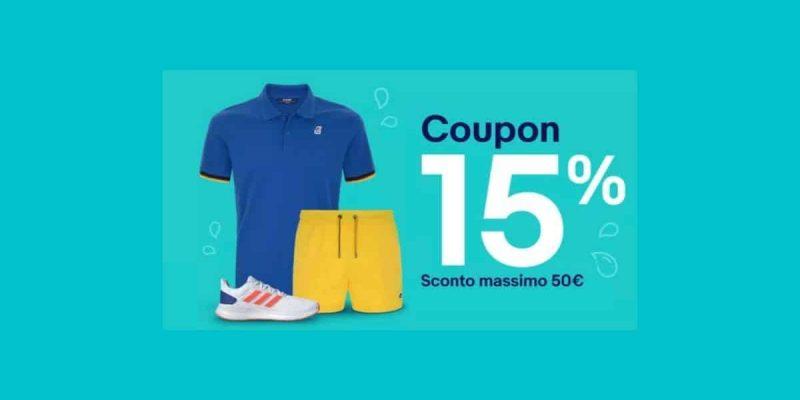 eBay: 15% coupon per i saldi estivi! Sconti su Moda, Bellezza e molto altro!